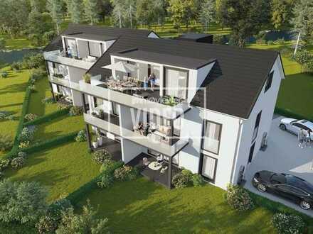 Bad Krozingen- Hausen am Ufer der Möhlin. Exklusive Kapitalanlage- 2-Zimmer ETW mit Balkon