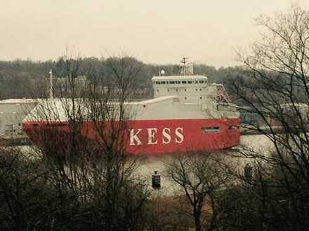 3 Zimmerwohnung in Kiel direkt am Nord-Ostsee-Kanal