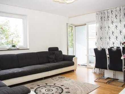 ruhige 3-Zi.-Wohnung mit Balkon und Grünblick - OHNE Maklergebühr