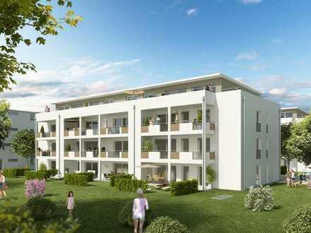 2 Zimmer- Wohnung Neubau , 72m² mit Gartenanteil zur Sondernutzung