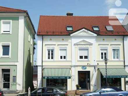 Luxuswohnung mit vermietetem Ladenlokal in Mindelheim