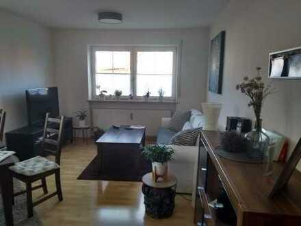 Stilvolle, gepflegte 2-Zimmer-EG-Wohnung mit Terrasse, Tiefgarage und Aussenstellplatz in Buchloe