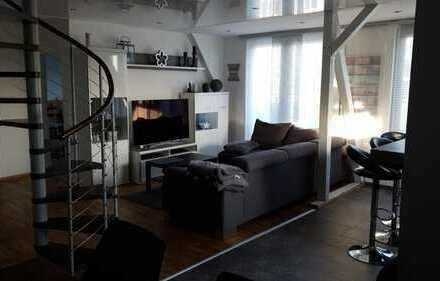 Schöne 6-Zimmer-DG-Wohnung (Maisonette) mit Balkon in Essen Huttrop