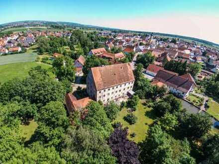 //Schloss Dellmensingen //Denkmalschutz //Entwicklungsobjekt im Dornröschenschlaf
