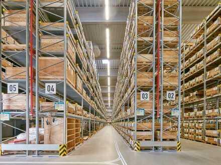 """BAUMÜLLER & CO."" - zum Kauf: ca. 10.000 m² Hallenfläche - Nähe A5"
