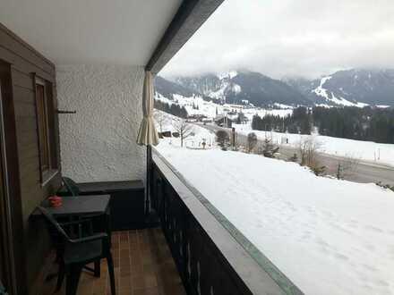Biena, schöne, geräumige 1,5-Zimmer Wohnung in Oberallgäu (Kreis), Balderschwang