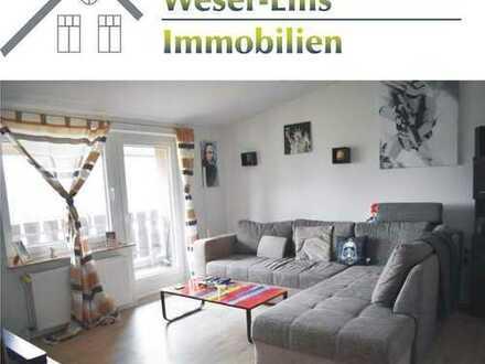 Sanierte 4-Zimmer Wohnung mit Balkon in Riepe