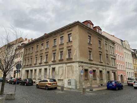 unsaniertes Wohnhaus in der Görlitzer Altstadt