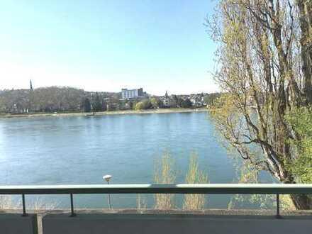 Geschmackvolle 2-ZKB Wohnung mit Balkon am Rhein, in Koblenz
