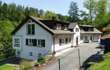 FREIWERDEND! Vierfamilienhaus mit traumhaftem Grundstück in top saniertem Zustand in Marxzell!