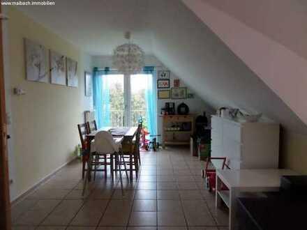 Stylische helle Maisonette Wohnung mit Balkon in Greven Reckenfeld+++