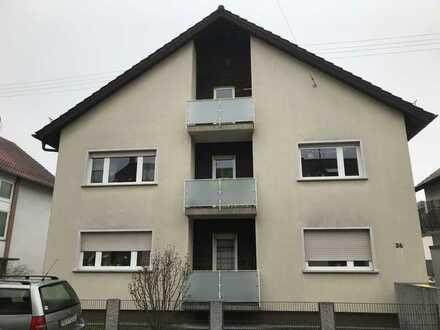 Hell, guter Schnitt & schön: 1 Zimmer, neuwertiges Bad und Balkon in kleiner Wohneinheit