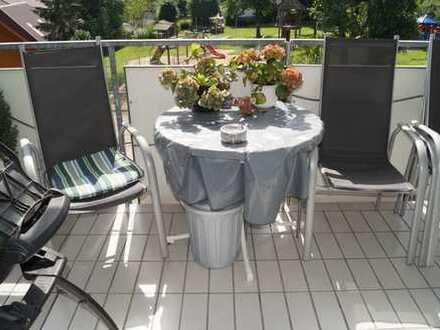 *Genialer Grundriss, lichtdurchflutete u. neuwertige 3-Zimmer m. Balkon in Gaisbach + TG Stellplatz*