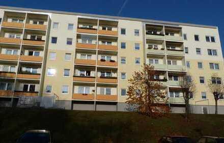 Blick über die Stadt Zschopau, 3-Raumwohnung