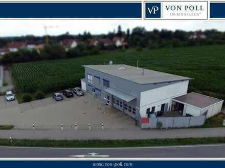 Betriebsgebäude mit exzellenter Verkehrsanbindung! Extrem niedriger Energieverbrauch! PROVISIONSFREI