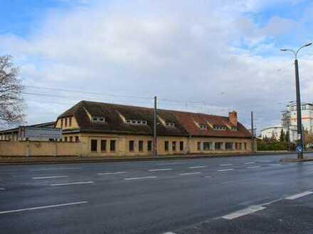 Geschäftshaus mit Grundstück direkt an der 4 spurigen Straße