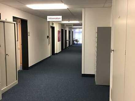 Große Büroetage im NWZ -ideal f. Praxis/Administration/Verwaltung- Insg. ca. 360m²-Provisionsfrei