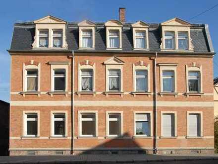 Hübsche Familienwohnung in Mulden-Nähe mit Balkon