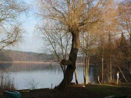 Seegrundstück in Neuglobsow am Dagowsee zu verkaufen. unweit vom Stechlinsee