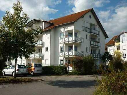 Helle 1-Zi-Wohnung mit EBK, Balkon, Keller und TG-Stellplatz