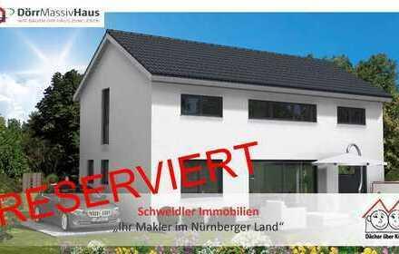 Freistehendes Neubau-Einfamilienhaus auf kleinem Grundstück in Fürth-Hardhöhe