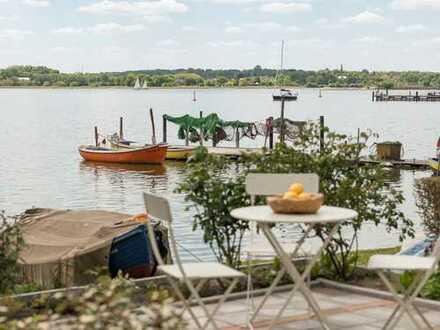 Rarität: Möblierte Fischerkate direkt an der Schlei