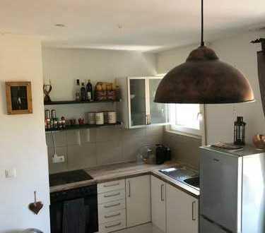 Teilmöblierte Wohnung mit Küche und Wohlfühlfaktor