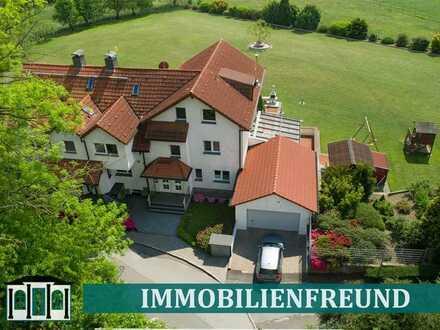 EINZIGARTIGes Gebäudeensemble aus zwei EFH mit parkähnlichem Grundstück am Rande von Bochum-Werne