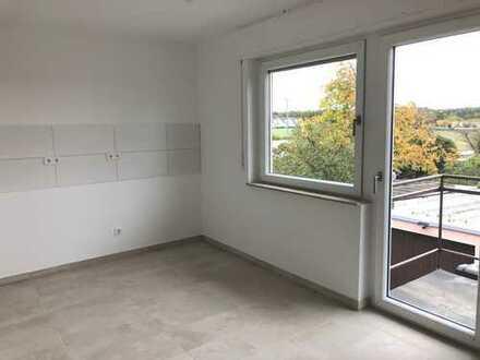 Helle sanierte 3-Zimmer Wohnung mit Balkon in Eggenstein