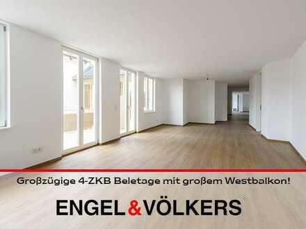 Großzügige 4-ZKB Beletage mit großem Westbalkon!