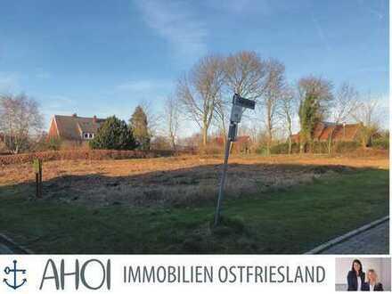 Großzügiges Grundstück in Hamswehrum! Verwirklichen Sie Ihr Bauprojekt auf einer Warft in direkter