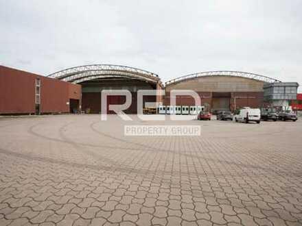 Lager & Produktionshalle - großes Tor - Kranbahn -Starkstrom
