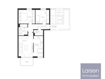 ERSTBEZUG - Hochwertige 3 Zimmer + Südbalkon + Einbauküche WE26
