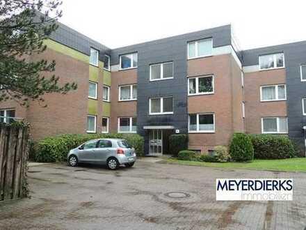 Nadorst - Flötenstraße: 2-Zimmer-Wohnung im Erdgeschoss mit Balkon