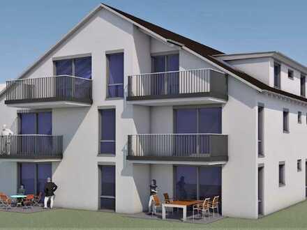 Erstbezug: attraktive, sehr helle 4-Zimmer-Wohnung mit Einbauküche und Balkon in Tiefenbronn