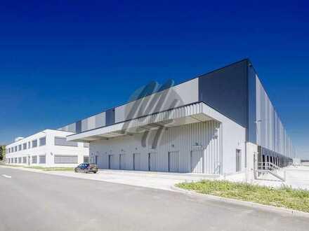KEINE PROVISION ✓ NEUBAU ✓ Lager-/Logistikflächen (4.200 m²) & Büroflächen (500 m²) zu vermieten