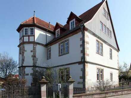 Wohnen im historischen Ambiente von Schloss Leimbach : 2 Raum-Whg. 77 qm