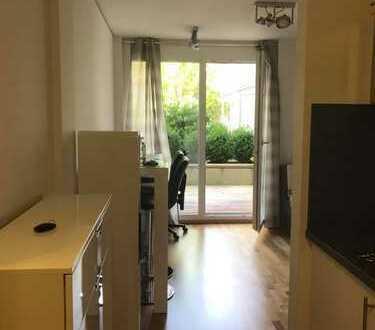 Stilvolles 1 Zimmer Apartment möbliert in Studentenwohnheim Moosach