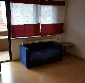 sonnige 1-Zimmer-Wohnung mit Balkon in Heigenbrücken