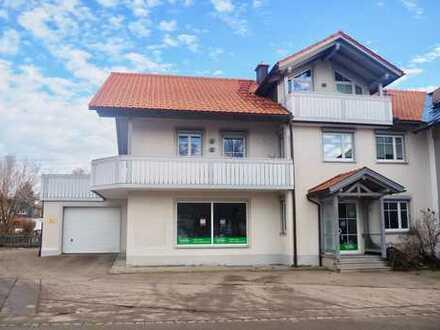 Vielseitig nutzbar - Attraktive Ladenfläche oder Lagerfläche mitten in Buchenberg mit 4 Stellplätzen