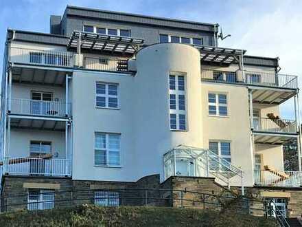 GROSSZÜGIGE- NEUBAU- 1.& 2. DG- 4- Zimmer Komfortwohnung in Villa- Nähe Klinikum