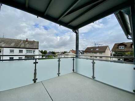 Attraktive, kernsanierte 3-Zimmer-Wohnung mit großem Balkon in Ilvesheim