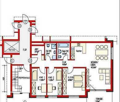 (860) Erdgeschosswohnung mit Südterrasse  - Neubau -