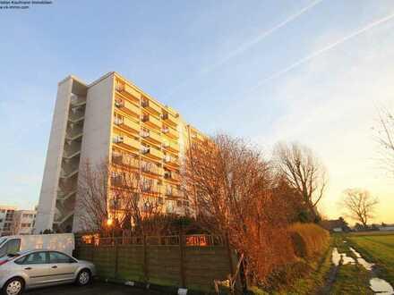 Vermietete 2 Zimmer-ETW in Schneppenhausen...2 Balkone...Einbauküche...Duschbad...