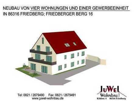 *NEUBAU* Zentrale Gewerbeeinheit direkt am Friedberger Berg!