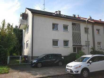 !! Ideal für Kapitalanleger !! 1-Zi-Wohnung mit Balkon in guter ruhiger Wohnlage in S-Stammheim