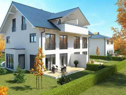 Beeindruckendes Doppelhaus