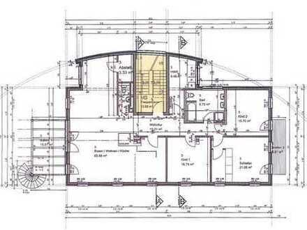 Exklusive 5-Zimmerwohnung mit 2 Balkons, Klimaanlagen und Kachelofen