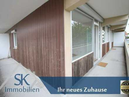 Großzügige 3 Zi. Whg. in Olching mit sehr großem Balkon und Garage