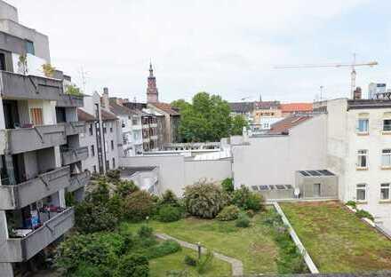 Traumhafte 2-Zimmerwohnung in Innenstadt Mannheim für Kapitalanleger